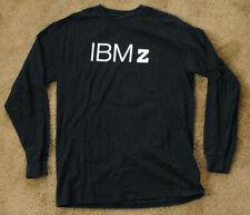 IBM Z IBMZ black t shirt long sleeve
