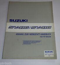 Werkstatthandbuch Suzuki Baleno SY 416 / SY 418 Typ Wagon Motor Bremsen, 06/1996