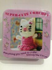 Super Cute Crochet Kit - Melody the Kitten  Brand New
