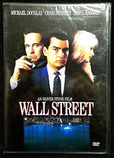 Wall Street (DVD, 2000) Widescreen, M. Douglas, Charlie Sheen, BRAND NEW SEALED!