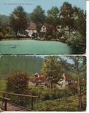 Frankierte Ansichtskarten vor 1914 aus Thüringen