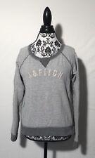 ABERCROMBIE & FITCH Women's Gray Sweater Size Medium Regular