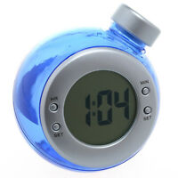 Horloge de Bureau Ecologique Alimenté par de l'Eau  H2O / Naturel Sans Pile