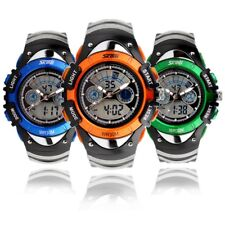 Kids Child Boy Girl Multifunction Waterproof Sports Analogue Digital Wrist Watch