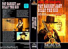 VHS -- Pat GARRET ( Garrett ) jagt Billy the KID -- (1979) - James Coburn