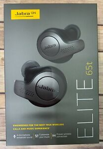 ***NEW*** Jabra Elite 65t True Wireless Earbuds - Titanium Black