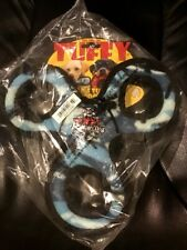 NEW TUFFY Durable JR 3 Way Tug Squeaky Dog Toy Blue Camouflage FREE Shipping