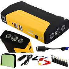 12V Portable 68800mAh Vehicle Car Jump Starter Battery Power Bank Charger 4USB
