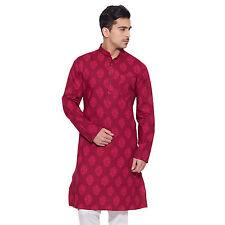 Men Full Sleeve Designer Indian Cotton Long Kurta Casual Wear Printed Kurta 1153