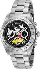 Invicta Uomo Disney Cronografo al Quarzo 200m Orologio in acciaio inox 25192
