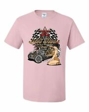Hot Rods and Sexy Broads T-Shirt Route 66 US Classic Muscle Cars Tee Shirt