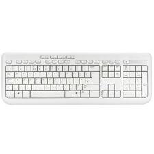New Genuine Microsoft Wired Keyboard 600 - White (ANB-00026)