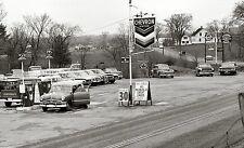 5x7 CHEVRON STANDARD GAS STATION SERVICE GARAGE early 1960's
