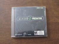 Aliens Versus Predator 2 (PC, 2001) Demo Disc