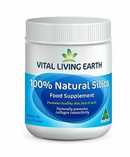 VITAL LIVING EARTH 100% Natural Silica Food Supplement 90g - 3 month Supply