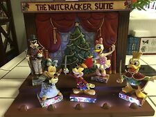 Jim Shore Disney Traditions Showcase Enesco Nutcracker Suite Plus All Figurines