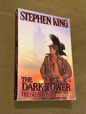 Stephen King The Dark Tower I The gunslinger Large Softback Book 1988 1st