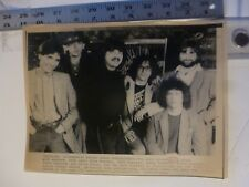 Vintage Wire Press Photo Toto 9 Nominations At Grammys 1/11/1983