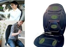 New Heated Back Seat Padded Massage Cushion For Chair Car Massage Seat Cover