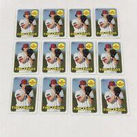 2018Topps Heritage Minors (12) IAN ANDERSON Atlanta Braves Rookie Card Baseball