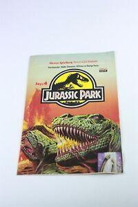 JURASSIC PARK #4 Turkish Comic Book 1990s VERY RARE Dinosaurs