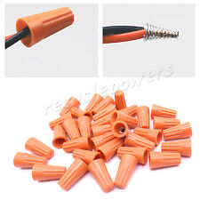 20 Orange Barrel P2 Screw-On Nut Standard Type Twist On Wire Connector 22-16 AWG