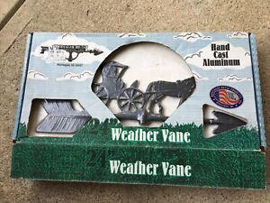 """Montague Metal Hand Cast Aluminum Eagle Weather Vane,24"""",new!"""