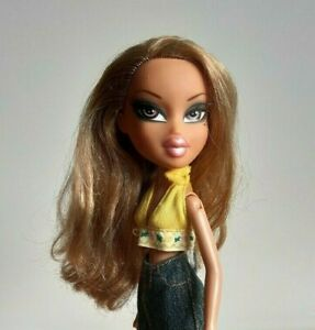 Bratz Doll Dressed with Shoes Yasmin  Denin Long Skirt MGA Toy 2001