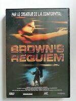 DVD NEUF FILM POLICIER : BROWN'S REQUIEM - SELMA BLAIR - SEXY PRIVE LOS ANGELES