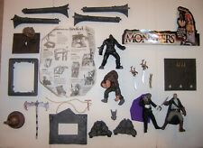 Todd McFarlane Monsters Hunchback Notre Dame & Phantom Of Opera Parts Figure Lot