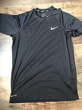 Nike Men's Black Rash Guard Shirt Size Small Nwt, Upf40