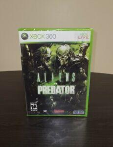 Alien vs. Predator (Microsoft Xbox 360, 2010) FACTORY SEALED *DAMAGED CASE *