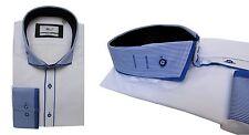 Slim-fit Hemd Button Down Muga*281*Gr.M blau