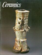 2000 Ceramics Monthly Magazine: Karl Beamer/Axel Salto/Sequoia Miller/Mizuno