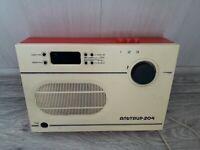 Soviet vintage old radio-Speaker Altair-204. USSR Made in Soviet Union Authentic