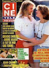 CINE REVUE 1994 N°18 brooke shields andre agassi kate moss johnny depp