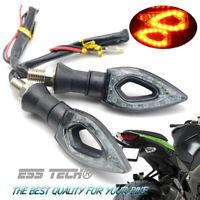 Clignotant moto Scooter clignotant LED 12 indicateur SMD puces lumière orange