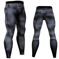 Men's Compression Pants Sport Tights Basketball Gym Bodybuilding Jogging Skinny
