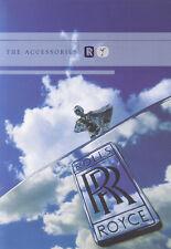 ROLLS ROYCE Silver Cloud Shadow Spirit Corniche Accessories Zubehör Prospekt 51