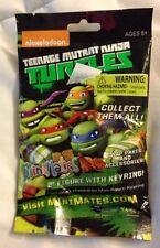 """Teenage Mutant Ninja Turtles MiniMates 2"""" Figure With Keyring Blind Pack NEW!"""