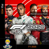 F1 2020 (PS4 Mod)- Max Resource Points