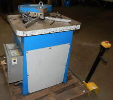 775 X 775 X 9 Ga Profab Model Hn 4200 Hydraulic Notcher 51420