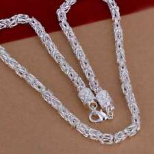 Fashion 925 Silver plated Men Jewelry Dragon Chain Necklace For Women N048