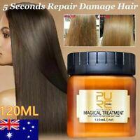 Purc Magical Keratin Hair Treatment Mask 5 Seconds Repairs Damage Hair Roots
