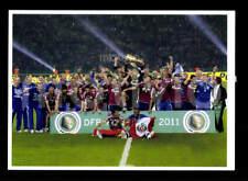 FC Schalke 04 Mannschaftskarte DFB Pokalsieger 2011