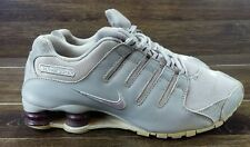 NIKE Shox NZ Women's Running Shoes Size 10   Grey/Purple 314561-102