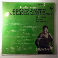 Sealed Vinyl Record Bessie Smith The Bessie Smith Story - Volume 2  CL 856