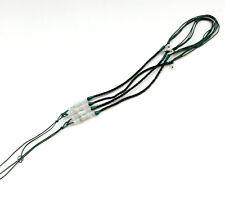 2 Piezas Natural Jade Jadeíta Cuentas Seda Cable para Colgante Joyería Accesorio