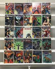 Dc Zero Issues Batman  Wonder Woman Lobo The Flash Catwoman Dc 25 Lot Comic Book