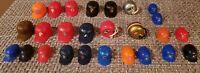 Assorted Mini gumball baseball and football helmets - Vintage
